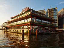 Sea Palace - Amsterdam city. September 08, 2012 Royalty Free Stock Photo
