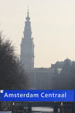 Amsterdam sign Royalty Free Stock Images