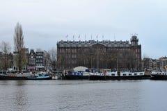 Amsterdam sikt fotografering för bildbyråer