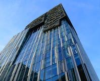 Amsterdam skyskrapaarkitektur Royaltyfri Foto