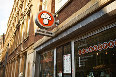 Amsterdam smartshop showcase, Netherlands Stock Image