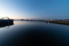 Amsterdam-Sonnenaufgang Stockbilder
