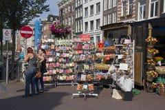 Amsterdam Souvenir Stall Stock Photos