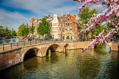 Amsterdam at spring Stock Images