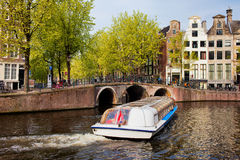 Amsterdam in Spring Stock Photography