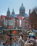 Amsterdam St. Nicolas Church Stock Images
