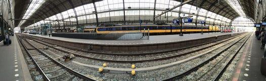 Amsterdam Stacja Centraal Obraz Royalty Free