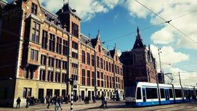 Amsterdam stad Arkivbild