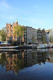 Amsterdam-Stadtbild Lizenzfreies Stockfoto