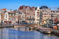 Amsterdam-Stadtzentrum Lizenzfreies Stockfoto