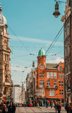 Amsterdam-Stadtzentrum lizenzfreie stockfotos