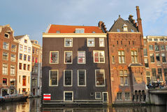 amsterdam starego miasteczko Zdjęcia Royalty Free