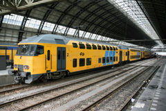 Amsterdam station Royalty Free Stock Photo
