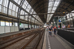 Amsterdam station Stock Image