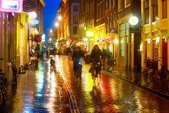Amsterdam street Stock Images