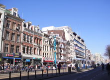 Amsterdam Street Stock Photos