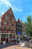 Amsterdam street. Stock Photos