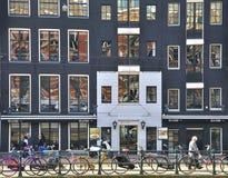 Amsterdam street Royalty Free Stock Image