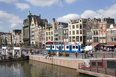 Amsterdam Streetscene, Holland Royalty Free Stock Photography