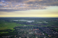 Amsterdam Suburb Royalty Free Stock Photos
