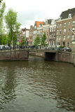 Amsterdam in summer Royalty Free Stock Photography