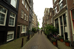 Amsterdam in summer Stock Photography