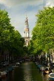 Amsterdam in summer Stock Photo