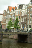 Amsterdam in summer royalty free stock photos