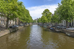 Amsterdam in a summer day Stock Photo