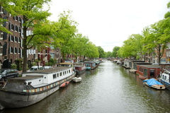 Amsterdam in summer Stock Photos