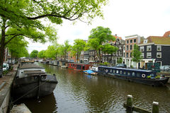 Amsterdam in summer Stock Image