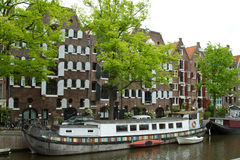 Amsterdam in summer Royalty Free Stock Images