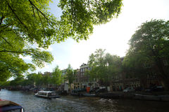 Amsterdam in summer Stock Photo