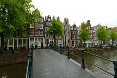 Amsterdam in summer Royalty Free Stock Image