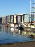 Amsterdam  on a sunny day Royalty Free Stock Photo