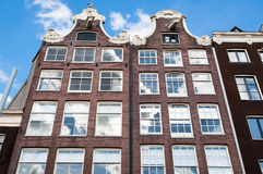 Amsterdam17th century residence building, Netherlands. Royalty Free Stock Images