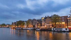 Amsterdam Time Lapse stock footage