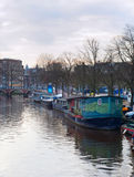 Amsterdam tipica netherlands immagine stock
