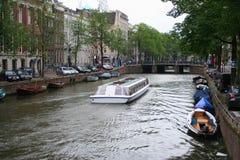 Amsterdam tourism Royalty Free Stock Photos