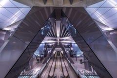 Amsterdam train station stock photo