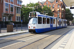 Amsterdam Tram Royalty Free Stock Photos