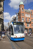 Amsterdam Tram Stock Images