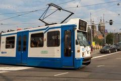 Amsterdam tramwaj Zdjęcie Stock