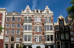 Amsterdam - Typical dutch architecture Royalty Free Stock Photo