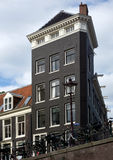 Amsterdam - Typical dutch architecture Stock Photography