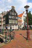 amsterdam ulica Zdjęcie Royalty Free