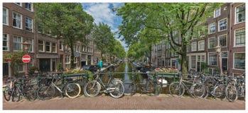 Amsterdam under sommar Royaltyfri Bild