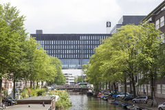 Amsterdam university on roeterseiland in the centre of the city Stock Photography