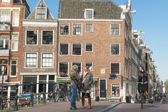 Amsterdam urban life Royalty Free Stock Photo