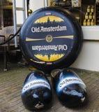 Amsterdam vecchia Fotografia Stock